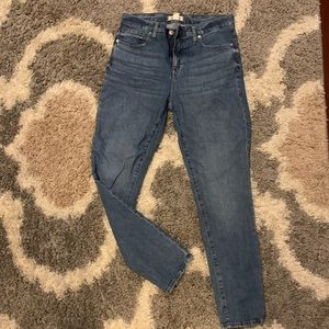 "Madewell 9"" High-Rise Skinny Jeans - 29 Tall"